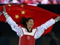 郑姝音获跆拳道冠军:中国女子大级别未来可期