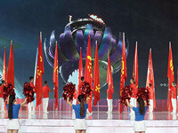 中华人民共和国第十三届运动会在天津圆满闭幕