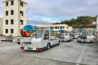 飞航地服引进的TK-XC80C新型行李传送车