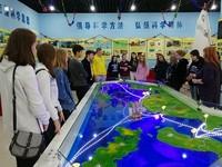 俄罗斯中学生参观航海科技馆