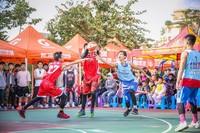 """2018年海南省""""迎春杯""""三对三篮球赛在海口开赛"""