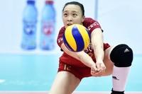 资料图片:最美女排队长惠若琪。
