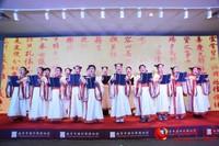 鸿儒吟诵社的一首《千字文》吟诵为南京中国科举博物馆试运营一周年融合创新发展交流分享会拉开了序幕