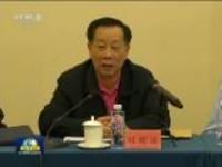 政协委员讨论监察法草案和国务院机构改革方案