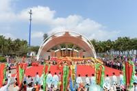 第十届二月二龙抬头海洋民俗文化旅游节现场