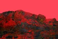 记忆中的风景(综合材料) 100×150厘米  杨波