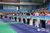 全国太极拳公开赛在南京高淳举行。