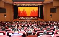 """万宁召开2018打赢脱贫攻坚战""""大比武""""活动动员会。陈燕清 摄"""
