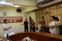 海南省第三医院专家团队为槟榔谷员工免费体检