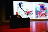 山东艺术学院教授张丽华开设艺术讲座