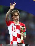 2018年俄罗斯世界杯金球奖得主,莫德里奇(克罗地亚),球队成绩亚军