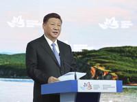 习近平主席出席第四届东方经济论坛取得圆满成功 头条