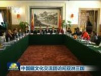 中国藏文化交流团访问亚洲三国