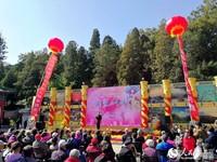 第31届八大处重阳游山会举行。人民网 尹星云 摄