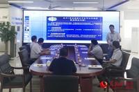 公司系统监测平台显示
