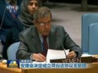 联播快讯:安理会决定成立荷台达协议支助团