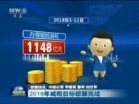 联播快讯:2018年减税目标超额完成
