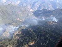 四川省凉山州木里县森林火灾已扑灭。图片来源:应急管理部