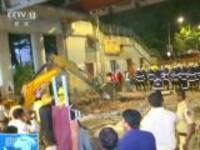 印度:孟买一人行天桥垮塌  五人死亡