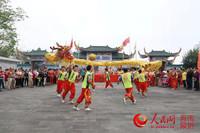 海南冯宝冼夫人纪念馆举办军坡节民俗活动