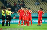 中国队队员遗憾面对失利