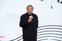 中国围棋协会主席林建超致辞 张志强摄