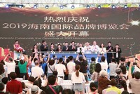 2019海南国际品牌博览会开幕盛况