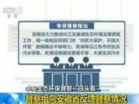 """中央生态环保督察""""回头看"""":督察组向安徽省反馈督察情况"""