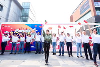 潘晓婷参与北京站活动