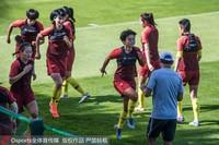 女足训练备战