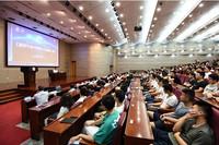 6月26日,航天科技集团董事长吴燕生为北航学子讲述新时代航天强国之路