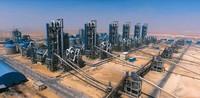 中国建材建设的埃及GOE 6条日产6000吨水泥生产线