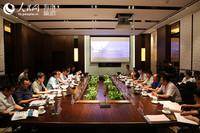 中组部团中央来琼博士服务团与洋浦工委管委会召开座谈会
