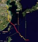 """台风""""利奇马""""路径图"""