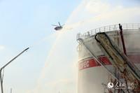 江西省举行化工应急救援跨区域联合作战演练,演练最大限度模拟实战。