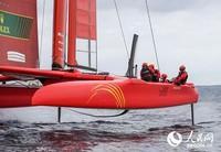 国际帆船大奖赛,中国队创造历史获得赛季第三。