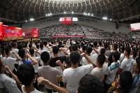 在此以青春之名,向伟大的党、伟大的祖国深情告白、庄严宣誓  杨安摄影