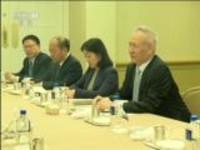 刘鹤在华盛顿分别会见国际组织负责人和美国工商界代表