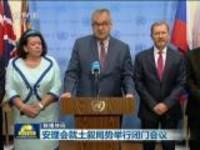 联播快讯:安理会就土叙局势举行闭门会议