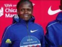 联播快讯:肯尼亚选手刷新女子马拉松世界纪录