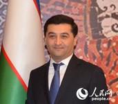 乌兹别克斯坦驻华大使赛义多夫。