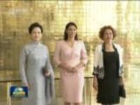 彭丽媛出席金砖国家领导人配偶活动