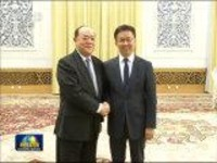 韩正会见澳门特别行政区新一届政府管治团队