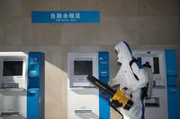 南京税务部门对办税场所严格消毒