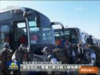 军队又一批医护人员今天抵达武汉