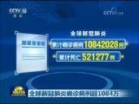 全球新冠肺炎确诊病例超1084万
