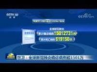 世卫:全球新冠肺炎确诊病例超1501万
