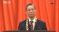 国家勋章和国家荣誉称号获得者代表钟南山发言
