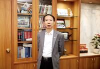 图为中国长城资产党委书记、董事长沈晓明。(受访者供图)