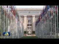 多国代表在联合国人权理事会支持中国